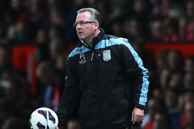 Premier League: Paul Lambert Grateful Aston Villa Limited Damage in Defeat