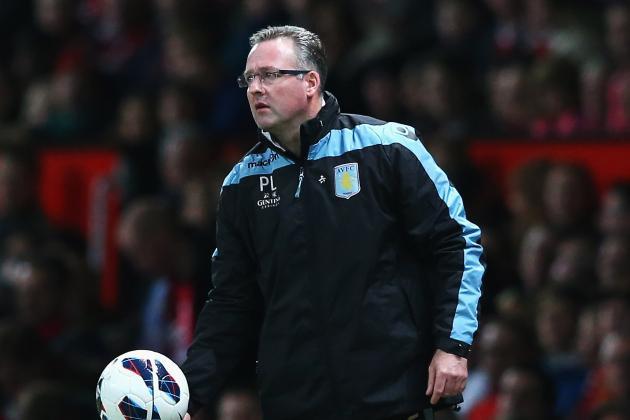 Premier League: Paul Lambert Grateful Aston Villa Limited Damage in Defeat