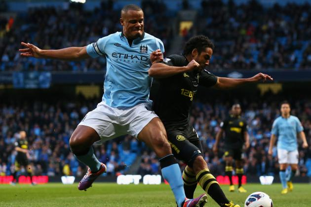 Premier League: Vincent Kompany Says He Is More Than Happy at Manchester City