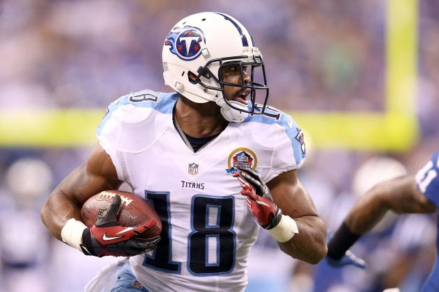 Titans Teammates Impressed with Kenny Britt's Recovery