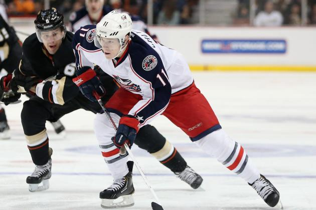 Blue Jackets Re-Sign Matt Calvert