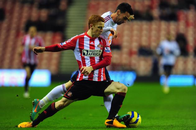 Sunderland Midfielder Jack Colback Happy to Play out of Position