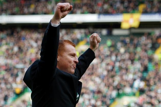 Celtic Manager Neil Lennon Savours SPL Title Triumph