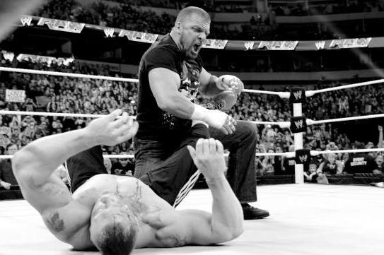 Brock Lesnar vs. Triple H 3 Is Not a Good Idea