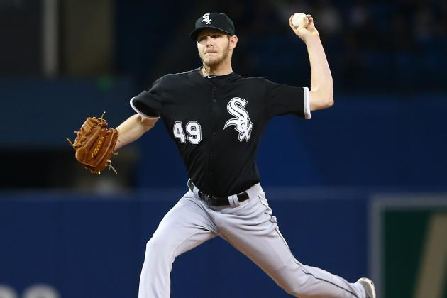 Sale Sees Velocity Increasing as Season Progresses