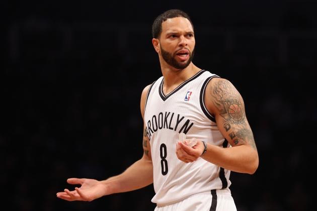 For Nets, Deron Williams Takes Fall in Game 2