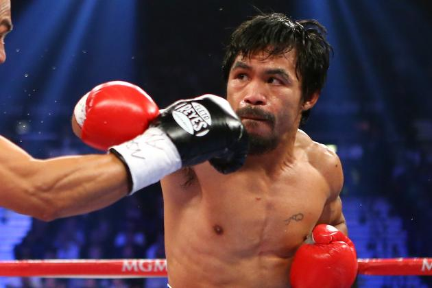 Pacman Choosing Between Rios, Alvarado for Oct. 13