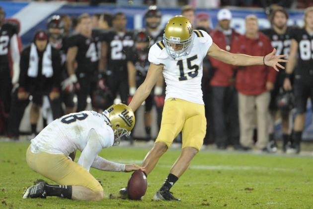 UCLA Kicker Ka'imi Fairbairn Ready to Fill Some Big Shoes