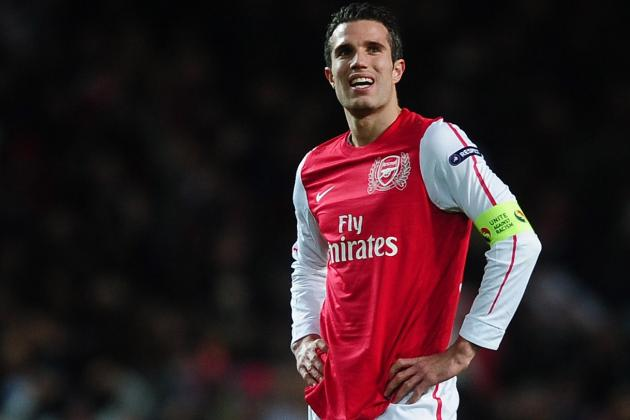 Arsenal FC: Comparing Gunners' Stats With, Without Robin Van Persie