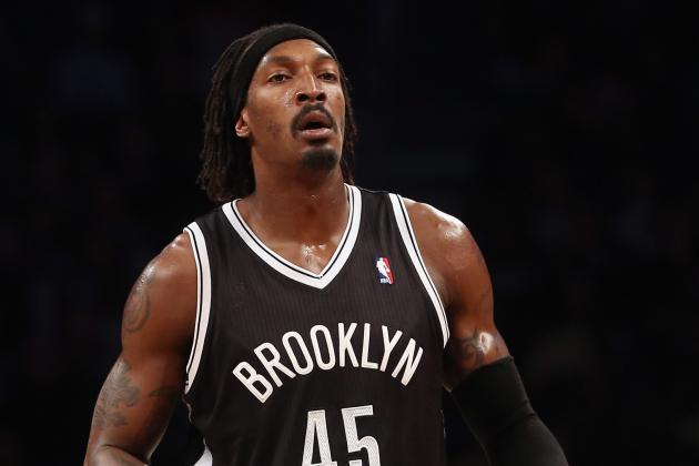 Gerald Wallace Struggles, Takes Seat for Nets in Game 2 Loss to Chicago