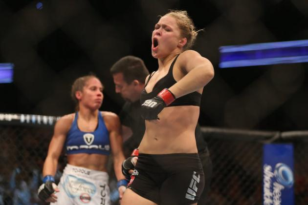 UFC Odds: Ronda Rousey Opens as -825 Favorite over Cat Zingano