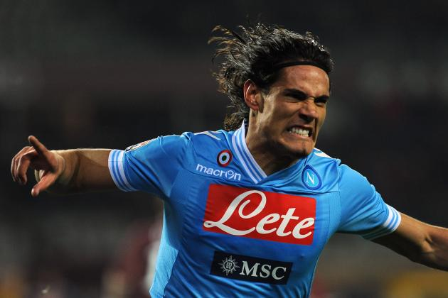 Edinson Cavani to PSG Rumors Beginning to Pick Up Steam