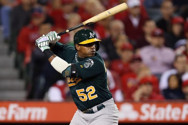 A's Cespedes Takes Batting Practice, Could Return Sunday