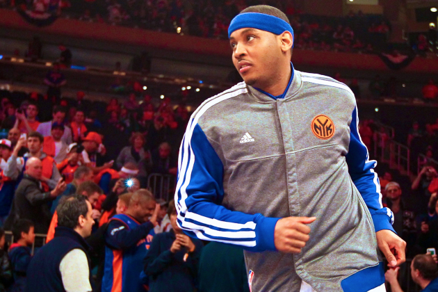 It's Time for Carmelo Anthony to Deliver What the Knicks Brought Him to NY for