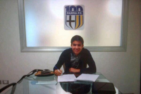 Parma Sign Venezuelan Striker