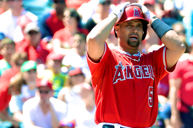 Is Albert Pujols' Promising Rebound Year About to Come Crashing Down?