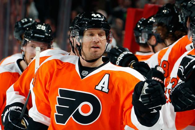 Flyers' Timonen (Fractured Foot) Done for Year