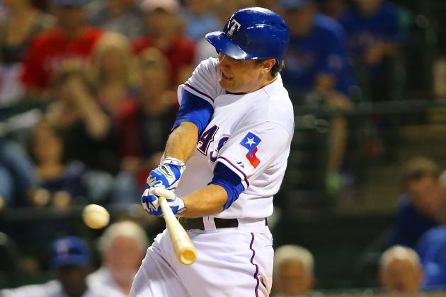 Berkman Already a Positive Influence on Rangers' Offense