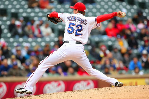 Scheppers Continues Rise in Rangers' Pen