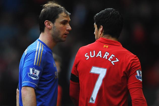 Branislav Ivanovic Rejects Luis Suárez's Apology for Biting Arm