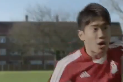 The Super Weird Shinji Kagawa Japanese Bank Ad