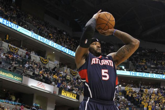 Atlanta Hawks Josh Smith Back at Practice