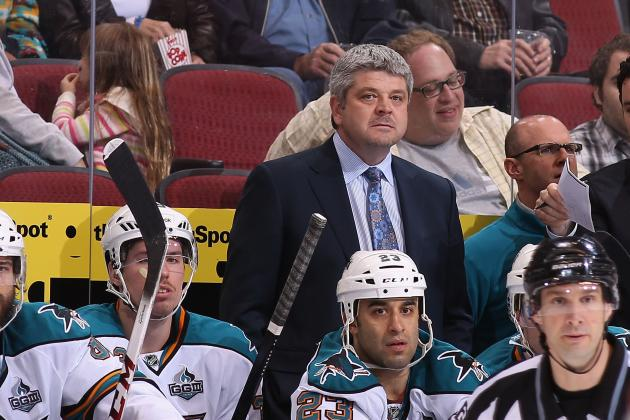 San Jose Sharks Coach Wants to See His Team Play with Urgency