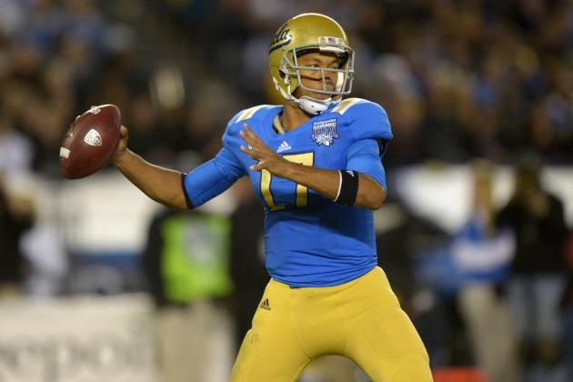 QB Coach: Hundley Would Go No. 1 in Draft