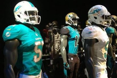 Dolphins New Uniforms