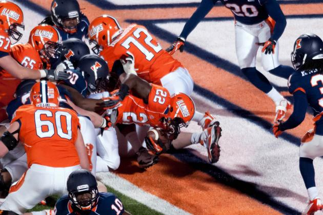 Which New Illini Player Had the Best Spring Game?