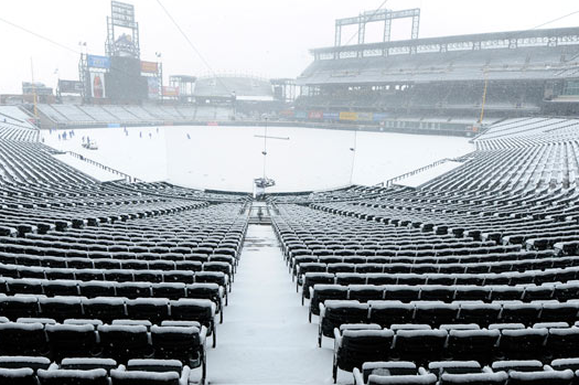 Rockies Set Franchise Record for Coldest First Pitch