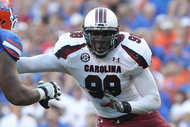 Devin Taylor Scouting Report: NFL Outlook for South Carolina DE