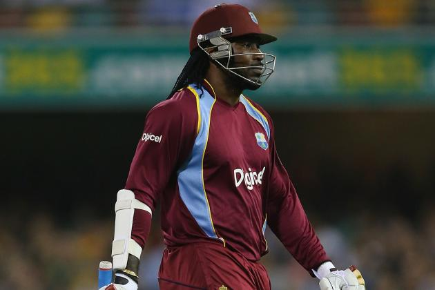 Gayle Hits Quickest-Ever Century