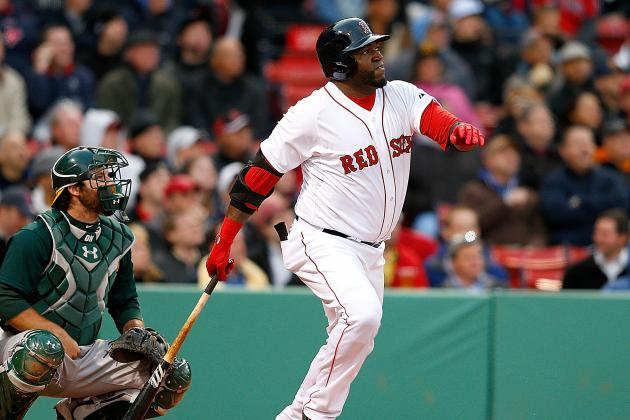 David Ortiz Will Sit Tuesday Against Athletics
