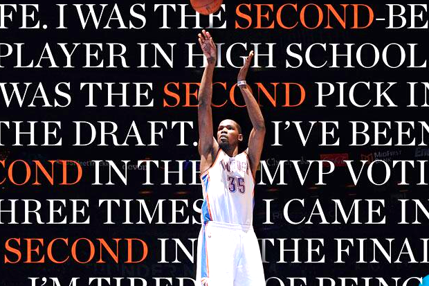 Kevin Durant Is Tired of Second Place on New Sports Illustrated Cover