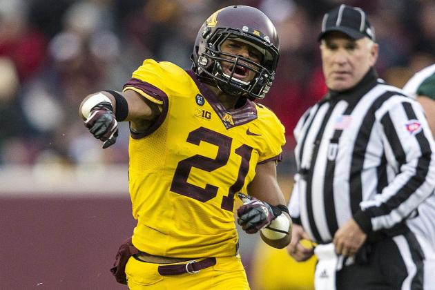 Gophers' Vereen Provides Safety Blanket