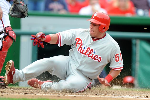 Report: Ruiz to Rejoin Phillies Sunday vs. Mets
