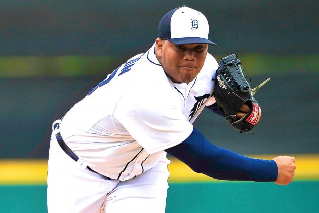 Report: Bruce Rondon Recalled from Toledo; Tigers Future Closer Set for Debut