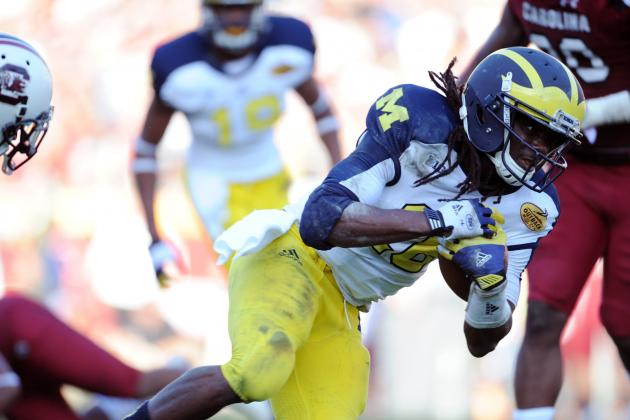 Ex-Michigan QB Denard Robinson, on ESPN Radio: 'I Am a Weapon'