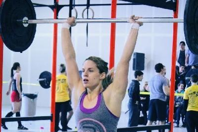 Hockey Star Emmanuelle Blais Expands Her Athletic Scope with Cross Fit