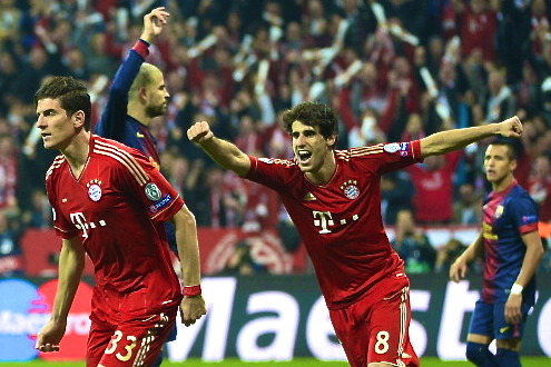 Bayern Munich 4-0 Barcelona: Javi Martinez, Fake Pressing Destroys the Blaugrana