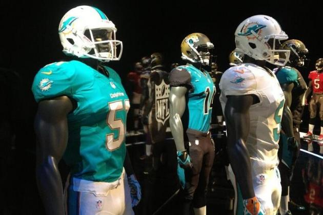 Miami Dolphins: New 2013 Nike Uniforms Have Leaked on Twitter