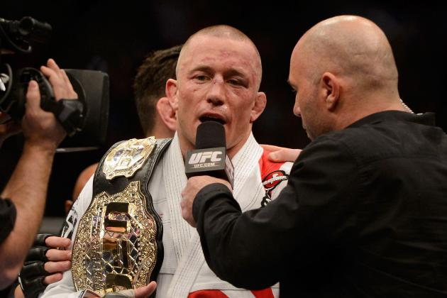 Georges St-Pierre Says His Next Fight 'Probably' Against Johny Hendricks