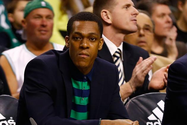 The Rajon Rondo Effect: How Point Guard's Absence Is Killing the Boston Celtics