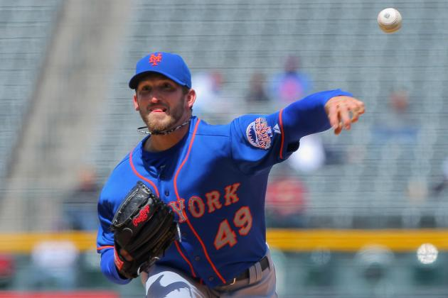 Niese Leaves Start in 3rd Inning vs. Dodgers
