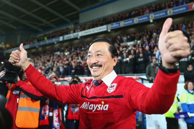Cardiff City Will Not Buy Superstars, Says Owner Vincent Tan