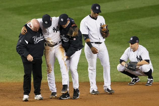 Cashman says Jeter will be in walking boot