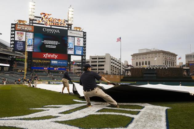 Tigers-Royals Game Postponed Due to Rain