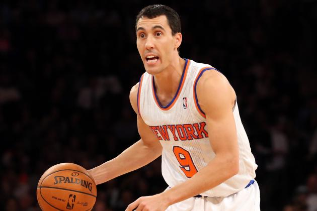 Pablo Prigioni Returns from Ankle Injury