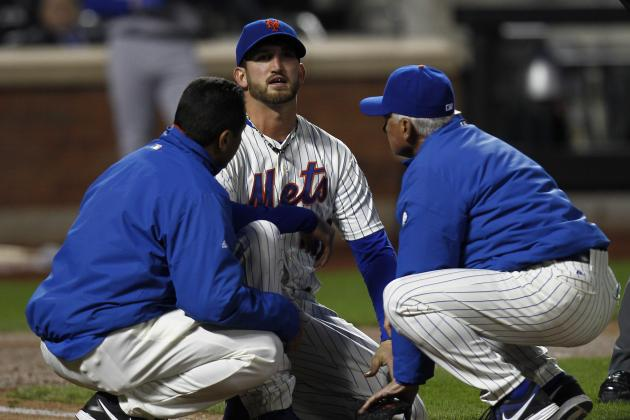 Niese Departs with Injury; X-Rays Negative